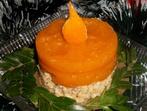 Тиквена коледна свещичка