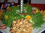 Коледен венец - свещник