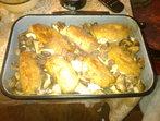 Ролца от свинско месо със сирена