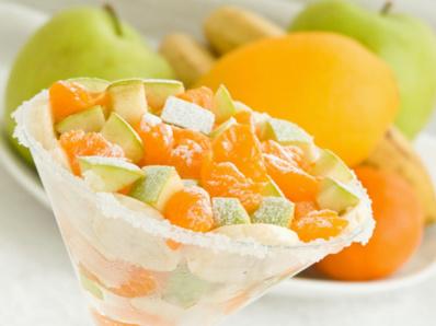 Салата от ябълки и портокали