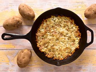 Рьощи - най-голямото картофено кюфте