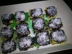 Шоколадови пастички с кокос