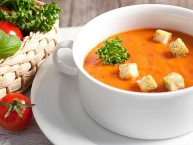 Тиквена супа с бекон