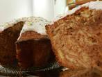 Шарен кекс със стафиди