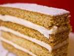 Торта Елена от парено тесто