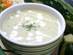 Супа от тиквички с прясно мляко