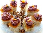 Мини сандвичи с пастет от боровинки