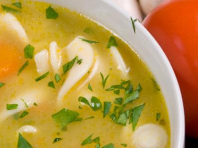 Супа с макарони и зеленчуци