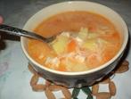 Пилешка супа с доматен сок