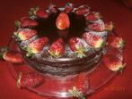 Торта с кексово тесто