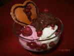 Сладолед с шоколадов мус