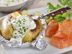 1 печен картоф - 8 рецепти