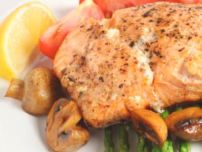 Рибно филе с гъби