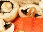 Задушена риба с печурки