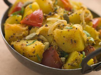 Къри картофи Бомбай Алу