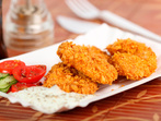 Пилешко филе Пармиджана