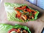 Пиле по тайландски в маруля