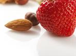 Бадемов пудинг с ягоди
