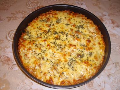 Спагети на фурна с много подправки