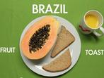 Кой какво яде по света за закуска (видео)