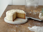 Бананова торта с крема сирене
