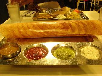 Доса - най-вкусната индийска палачинка