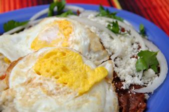 Чилакилес - яйца по мексикански