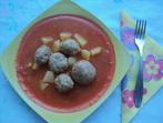 Кюфтенца с доматен сос (по чирпански)