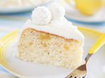 Божествено бял кейк
