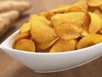 Печен чипс от сладки картофи