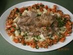 Свинско бон филе с карфиол