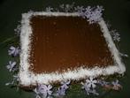 Шоколадова торта с готови блатове