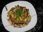 Пресни картофи с майонеза и горчица на зрънца
