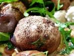 Печурки с рукола и сиренa