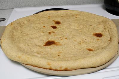 Пълнозърнесто тесто за пица