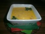 Кашкавалена  супа с кренвирши