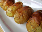 Печени пресни картофи