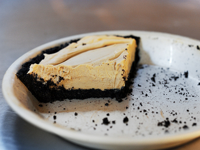 Фъстъчен десерт с крема сирене