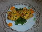 Картофени цветя с кренвирши