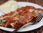 Маникоти със сирене и спанак