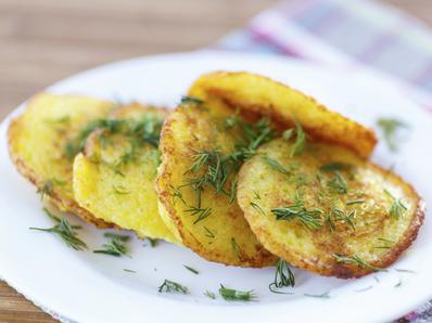 Лесни картофени мекици