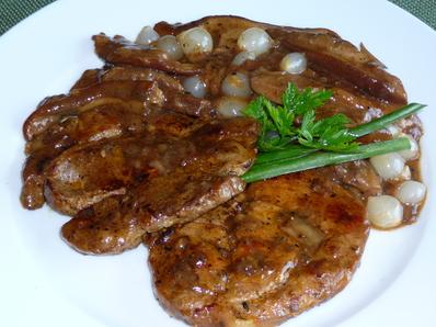 Месо с манатарки