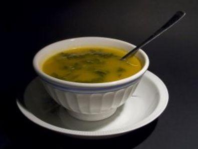 Супа от млад зелен фасул