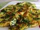 Омлет със спанак, сирене и яйца