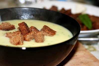 Крем супа от извара