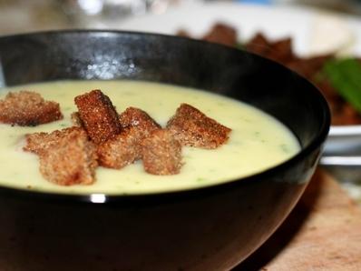 Крем супа от топено сирене