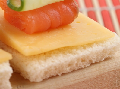 Шишчета със сирене Гауда