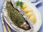 Риба с подправки във фолио