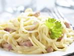Най-бързата рецепта за спагети карбонара!