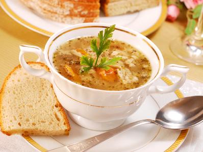 Супа от праз и маслини